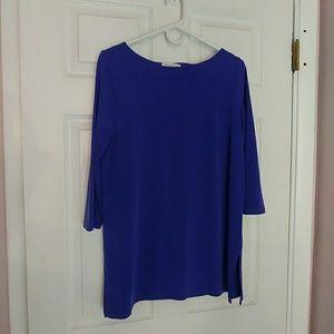 Liz Claiborne purple tunic